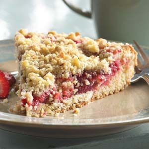 Smucker's® Strawberry Coffee Cake
