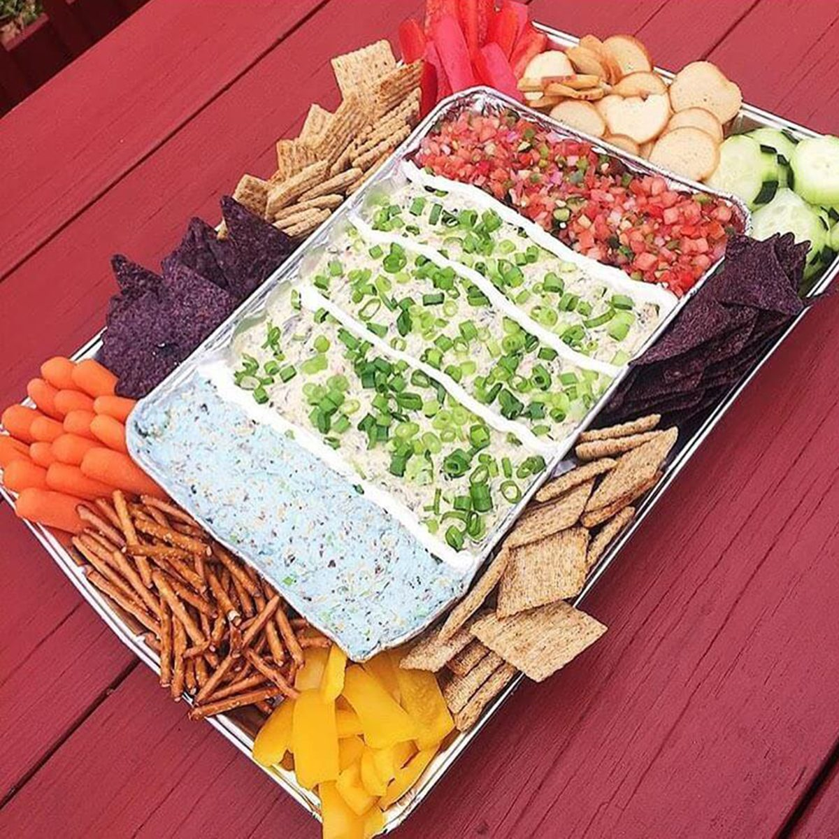 stadium snack super bowl party tray