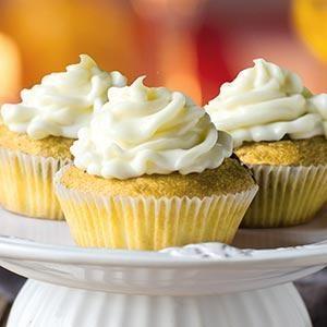 Pineapple Cinnamon Cupcakes
