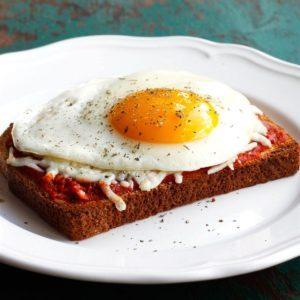 Italian Style Breakfast Toast