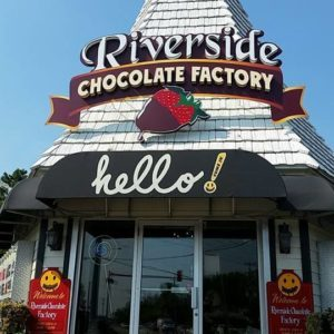 Riverside Chocolate Factory, McHenry, Illinois