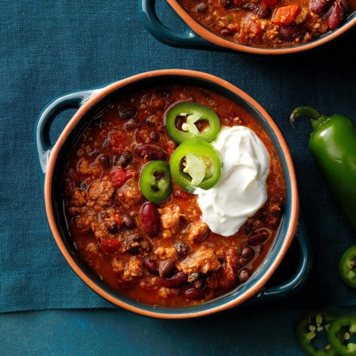 25-Minute Turkey Chili