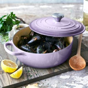 Le Creuset Just Released the Prettiest Lavender Collection