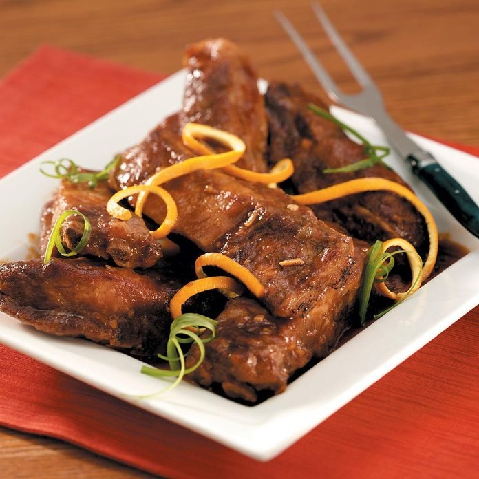 5 Ingredient Chinese Pork Ribs Recipe How To Make It Taste Of Home