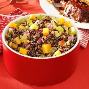 Almond & Apple Wild Rice Salad