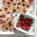 Almond Berry Pancakes
