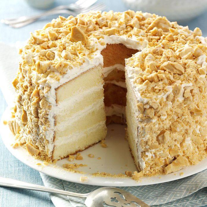 Almond Brittle Torte