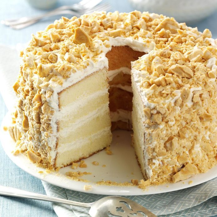 Mary Todd Lincoln: White Almond Cake