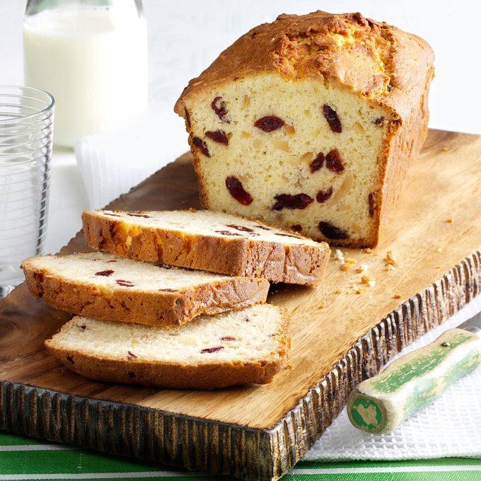 Almond & Cranberry Coconut Bread