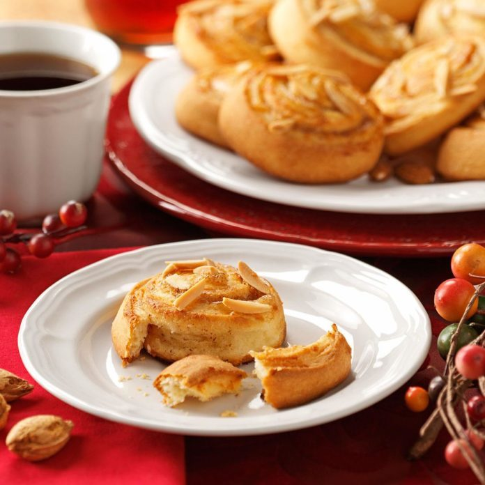Almond-Filled Breakfast  Rolls