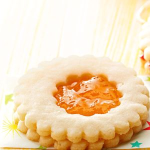 Almond Jelly Cookies