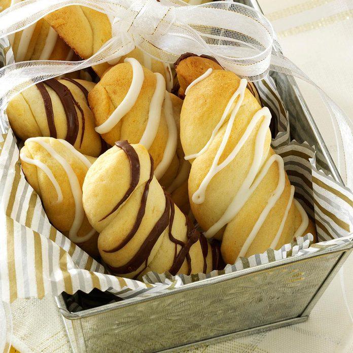 Almond-Ricotta Twists