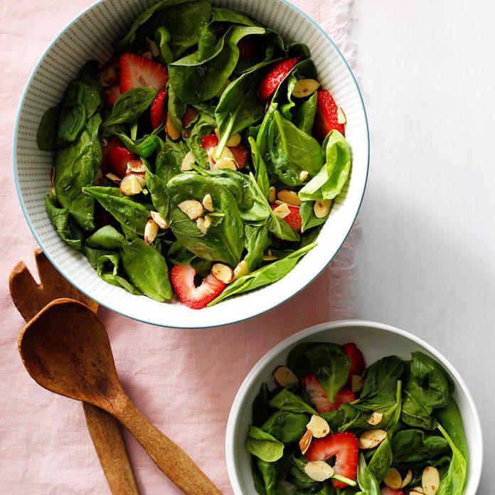Kentucky: Almond Strawberry Salad