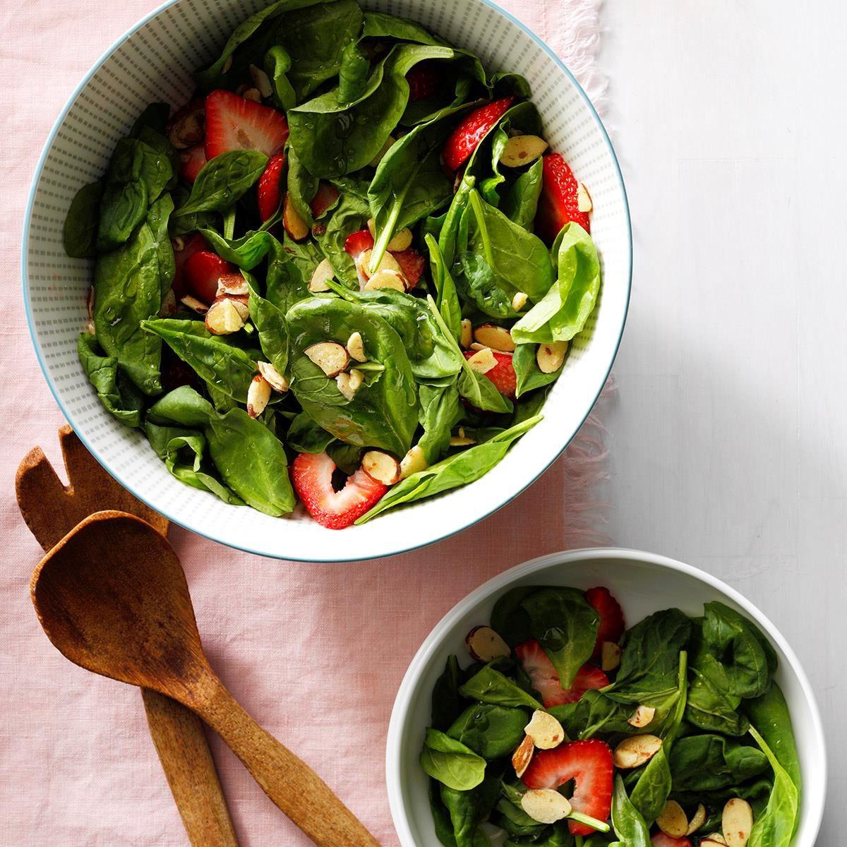 Almond Strawberry Salad