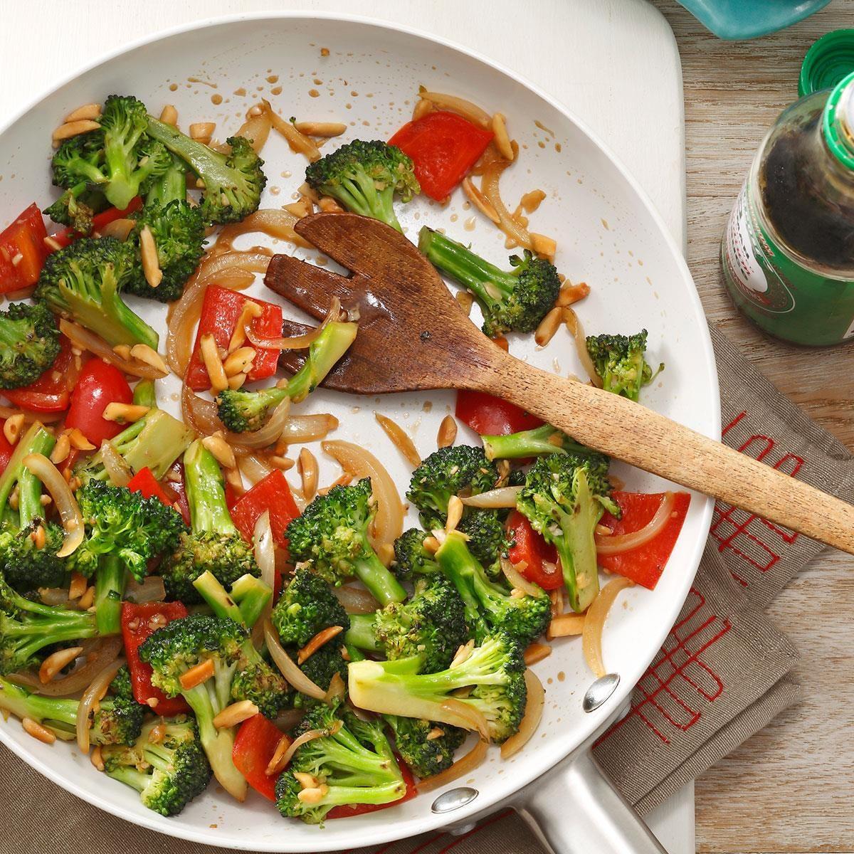 Almond Vegetable Stir-Fry Recipe