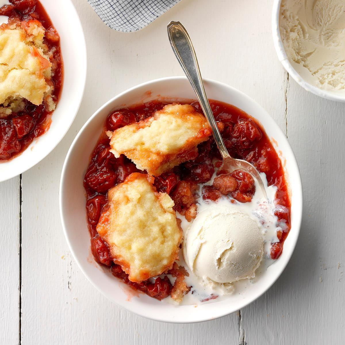Dumplings with frozen cherries: recipes 87