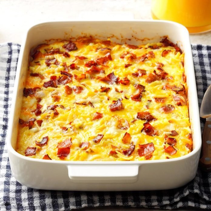 Indiana: Amish Breakfast Casserole