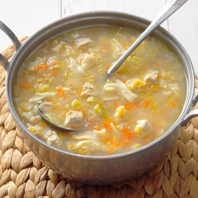 Amish Chicken Corn Soup
