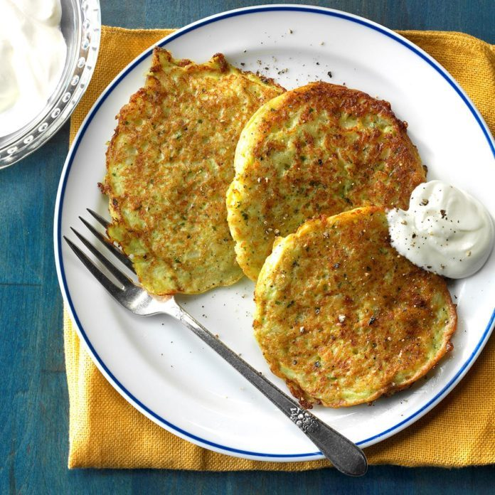 Amish Potato Pancakes