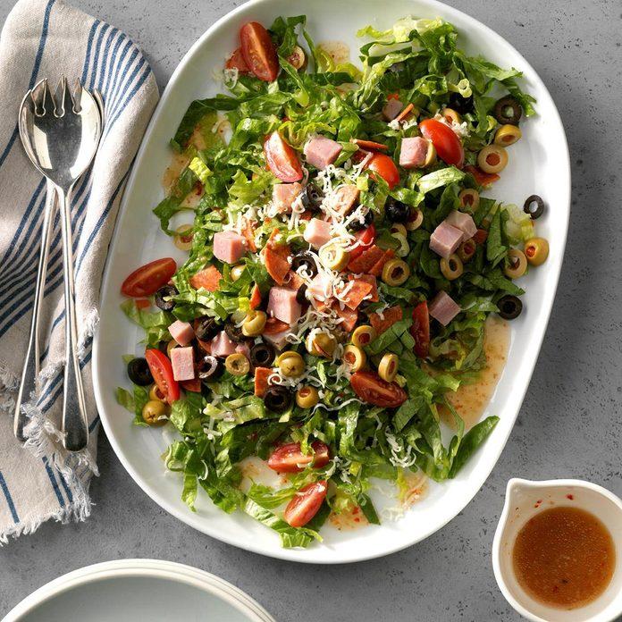 Make: Quick Antipasto Salad