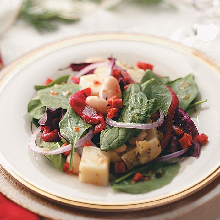 Antipasto Spinach Salad