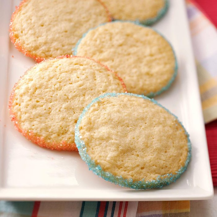 Any Holiday Sprinkle Cookies