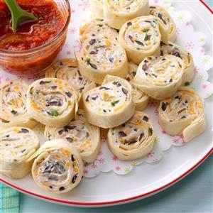 Appetizer Tortilla Pinwheels