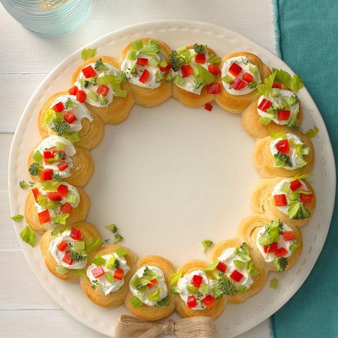Appetizer Wreath