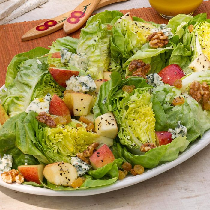 Apple, Blue Cheese & Bibb Salad for Two