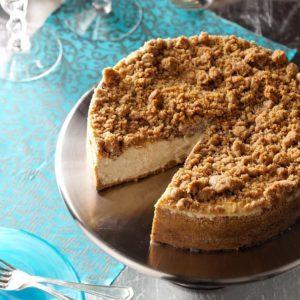 Apple Brandy Cheesecake