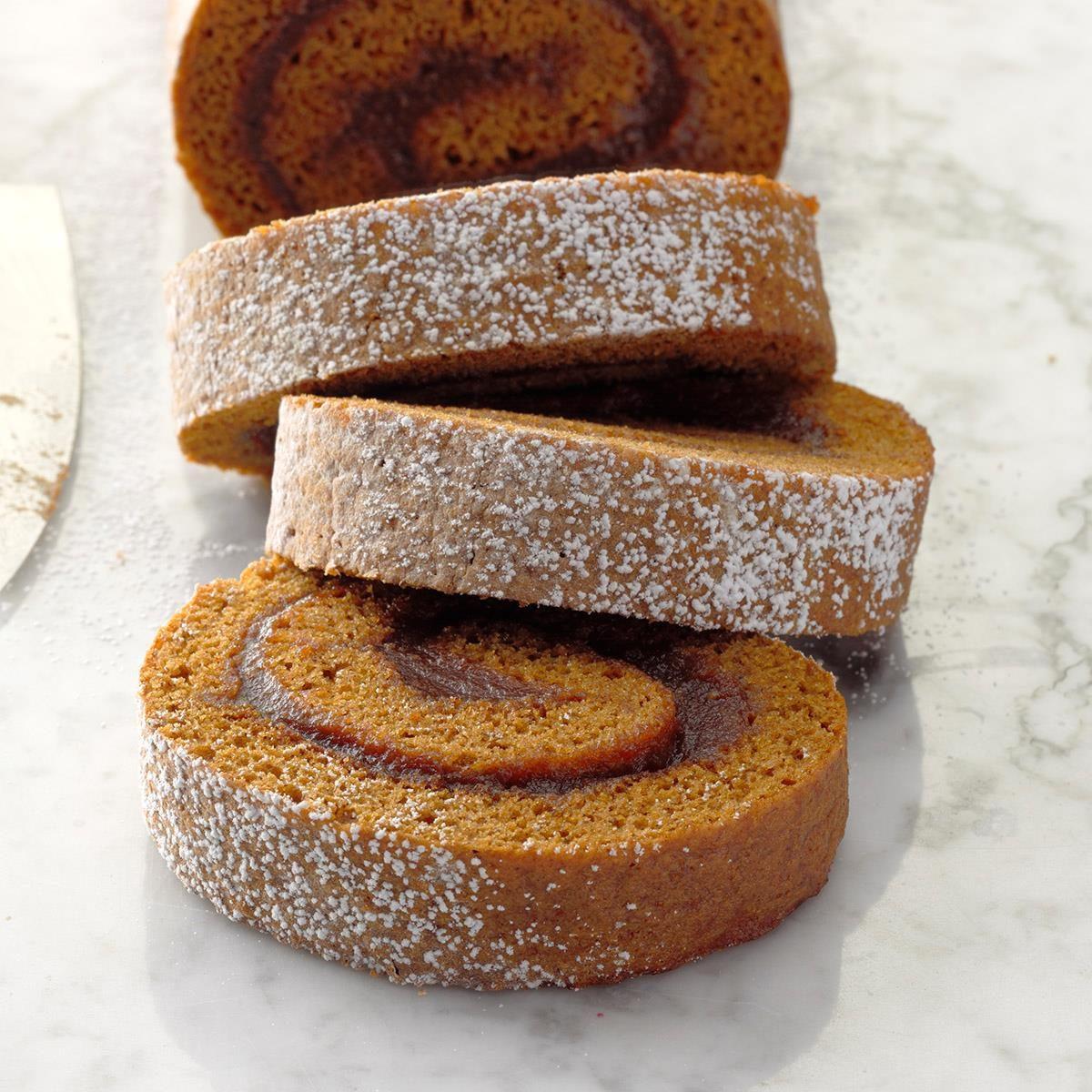 Apple Butter Cake Roll