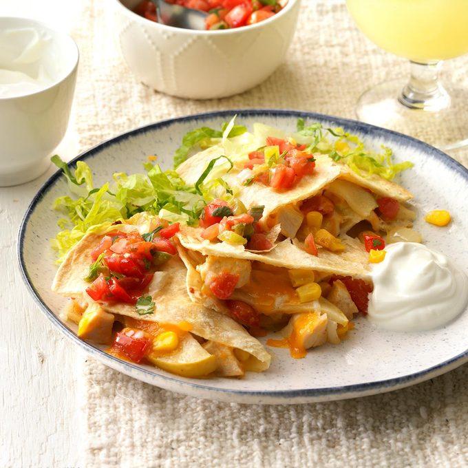 Apple Chicken Quesadillas