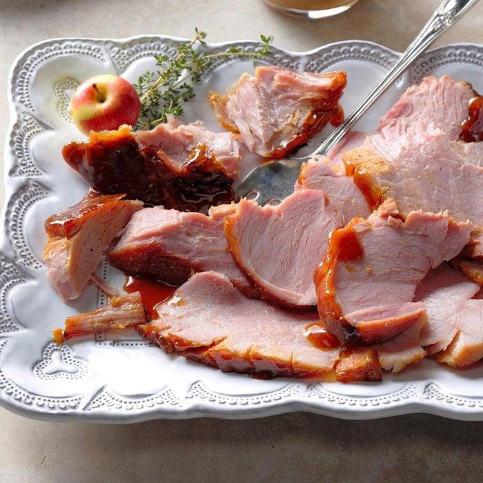 Apple Cider-Glazed Ham
