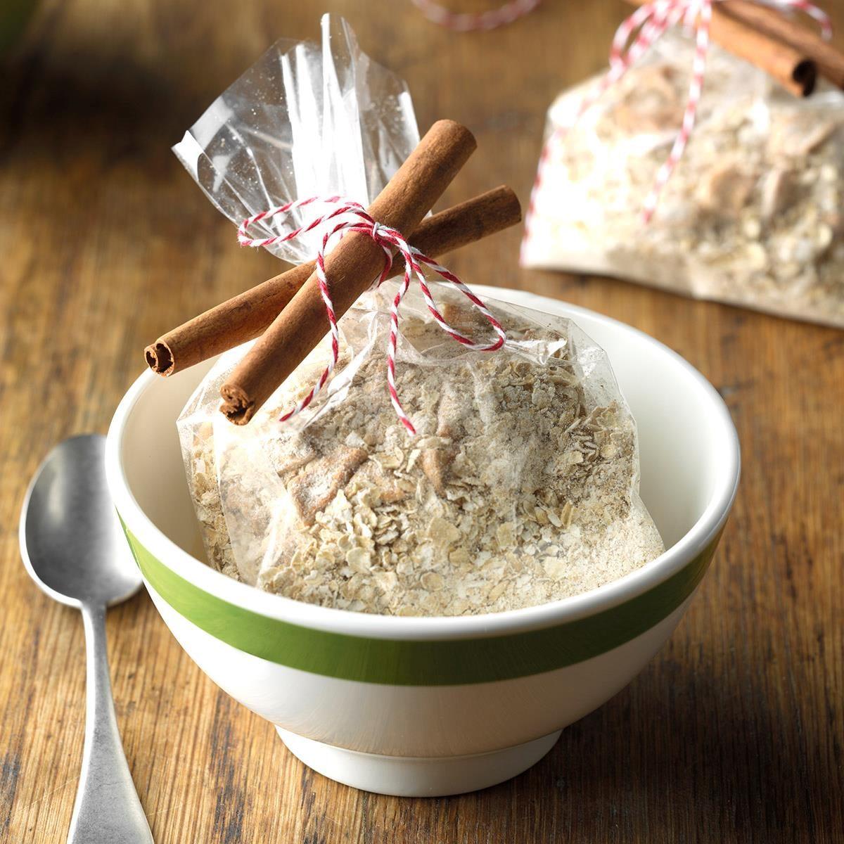 Apple-Cinnamon Oatmeal Mix Recipe