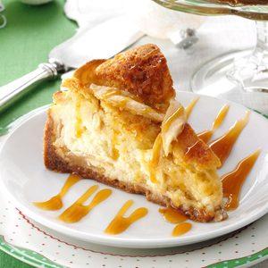 Apple Cobbler Cheesecake