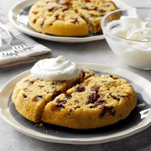 Apple Cranberry Upside-Down Cakes