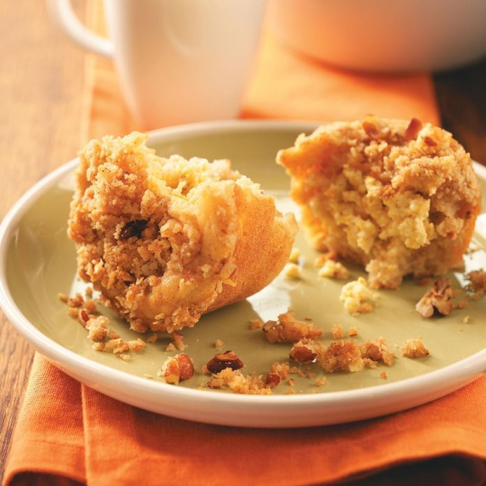 Inspired by: Apple Crunch Muffin