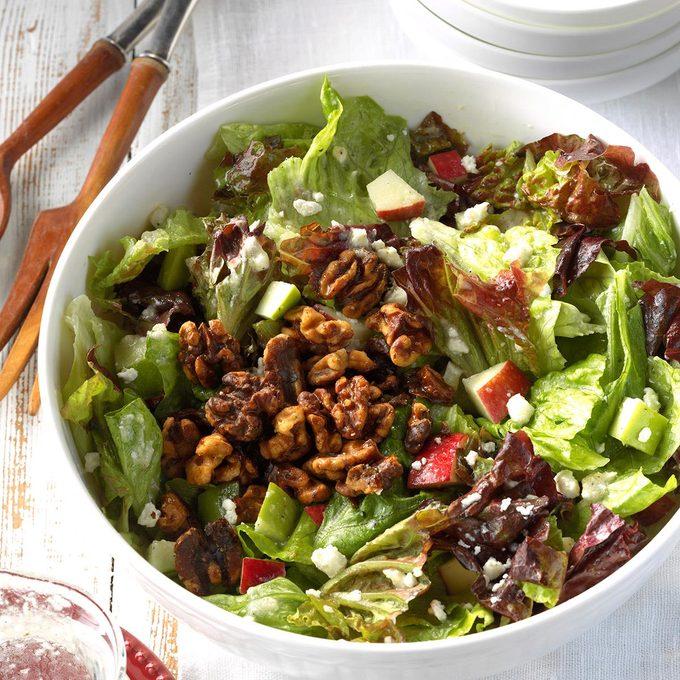 Apple-Feta Tossed Salad