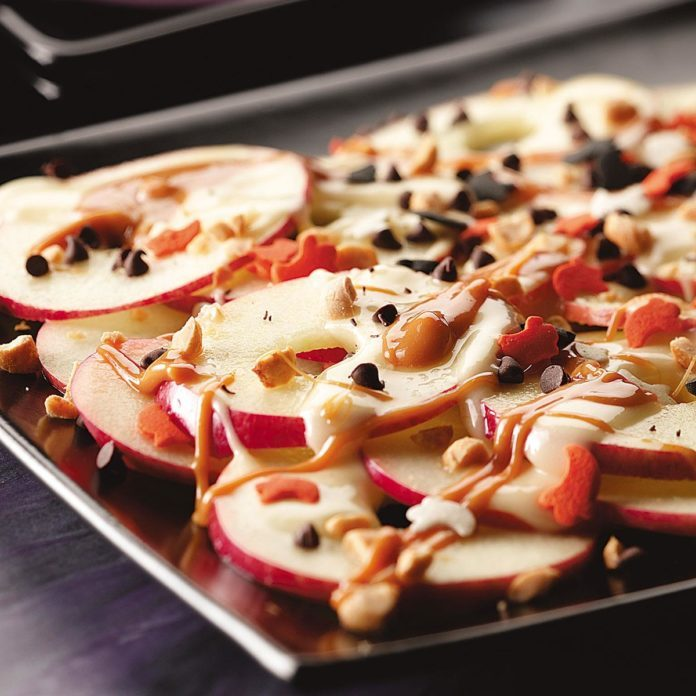 Apple Nachos