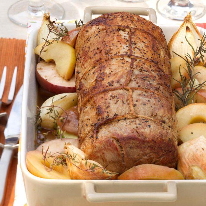 Apple Orchard Pork Roast