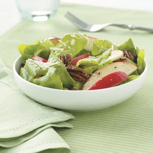 Apple-Pecan Salad with Honey Vinaigrette
