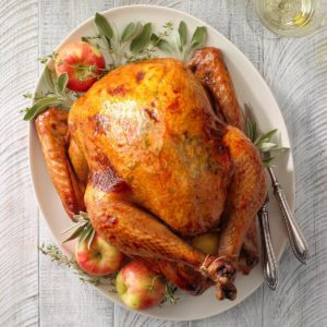 Apple-Sage Roasted Turkey