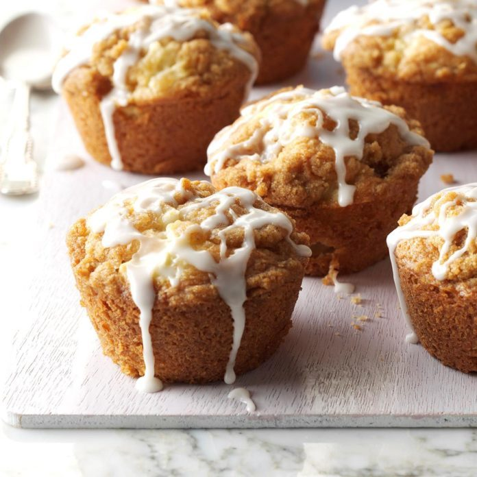 Pennsylvania: Apple Streusel Muffins