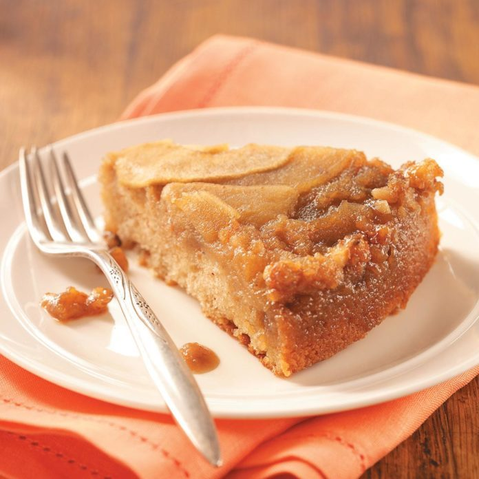 North Dakota: Apple Upside-Down Cake