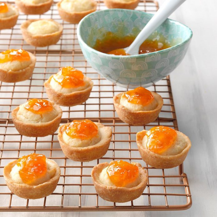 Apricot-Almond Tartlets