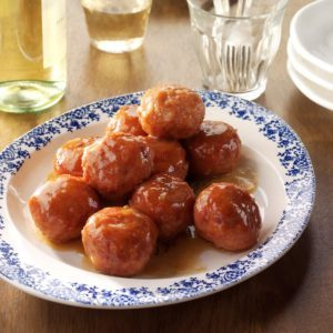 Apricot Ham Balls