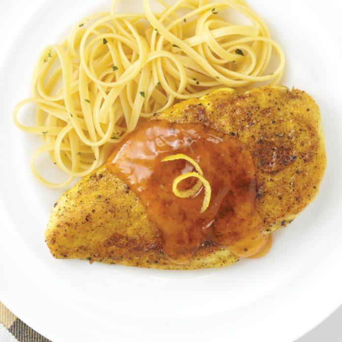 Apricot-Lemon Chicken