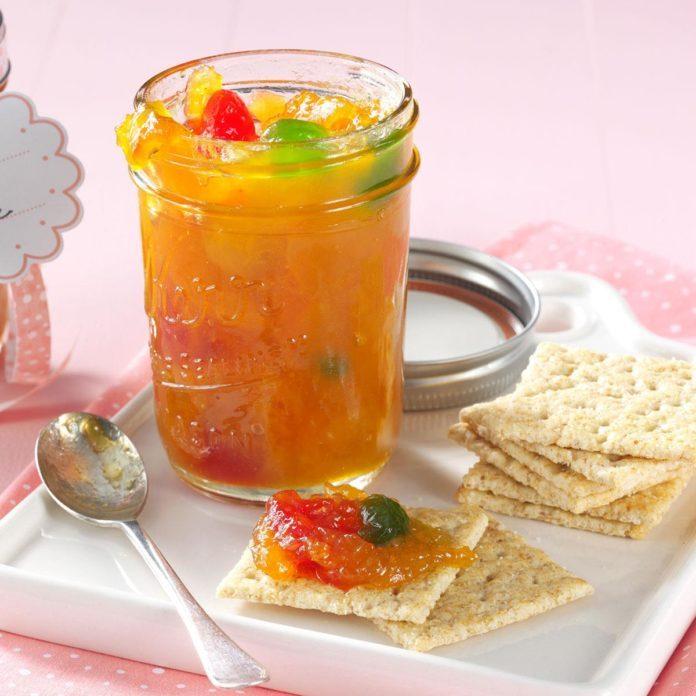 Apricot & Maraschino Cherry Preserves