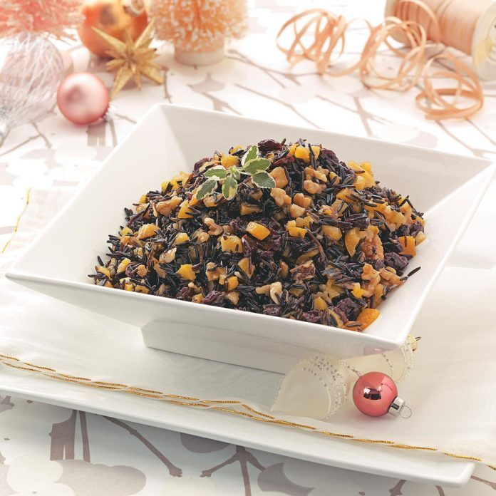 Apricot Wild Rice Salad