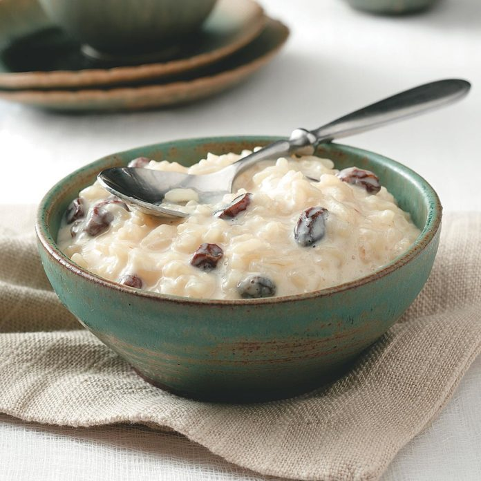 Arroz Con Leche (Rice Pudding)